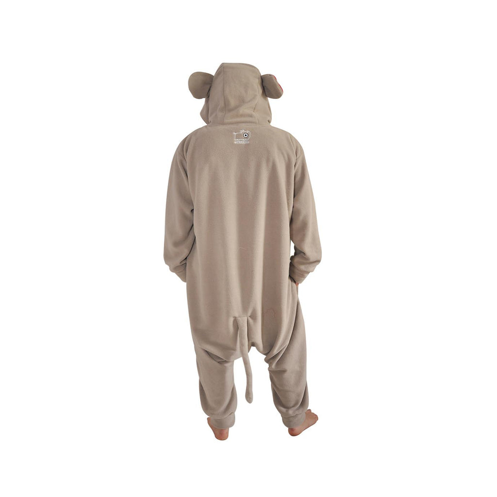 Crazy Monkey Onesie (beige/red)