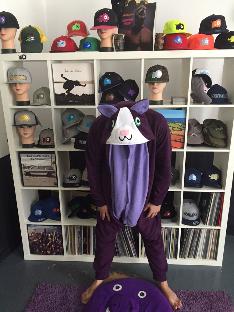 Purple Cat Onesie (purple/lilac) (temporary pic)