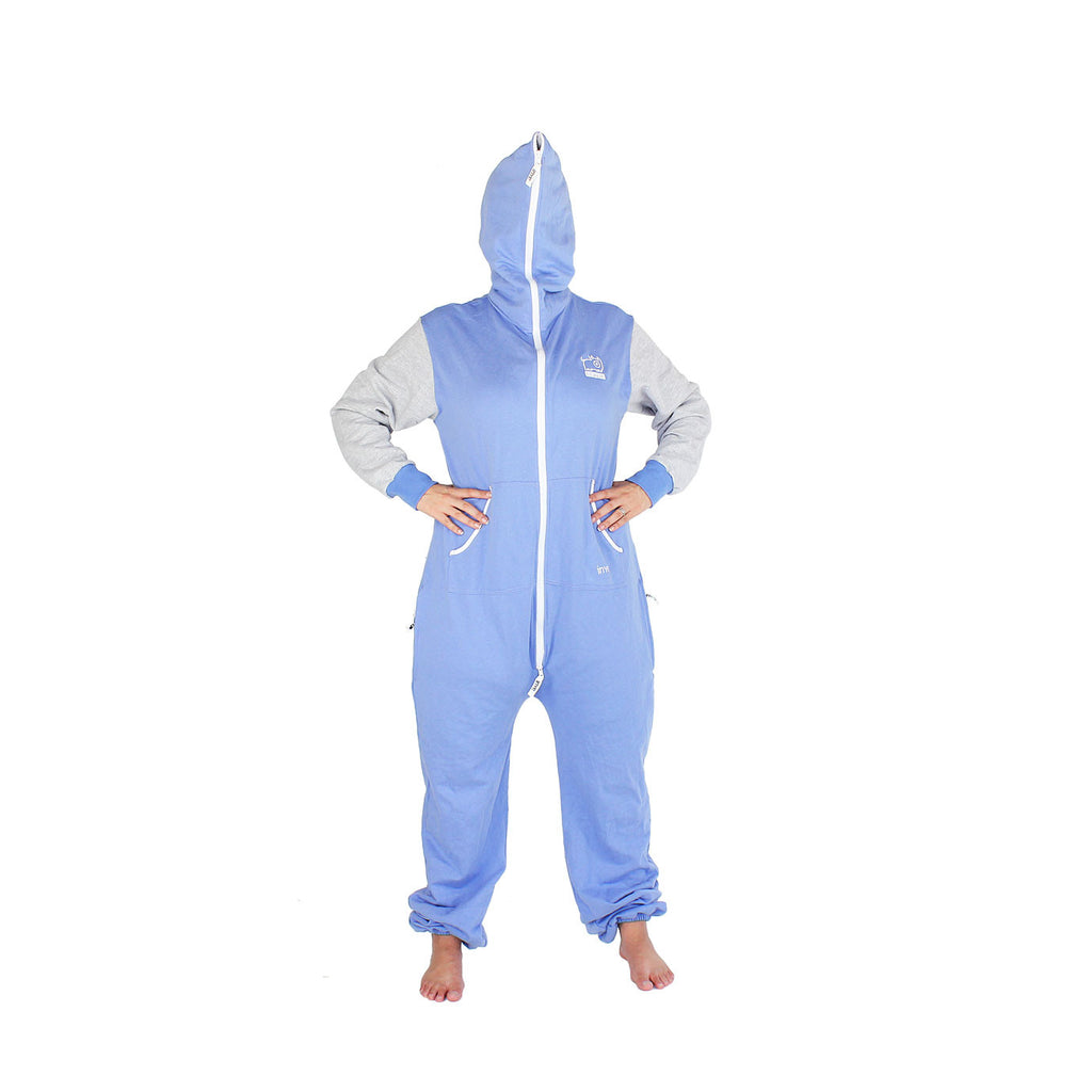 Light Blue & Grey Inye Onesie