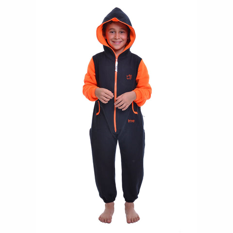 Black & Orange Inye Onesie