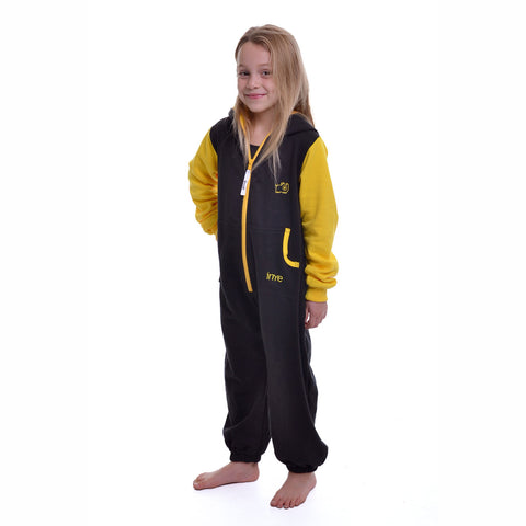 Black & Yellow Inye Onesie