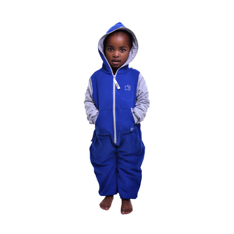 Blue & Grey Inye Onesie