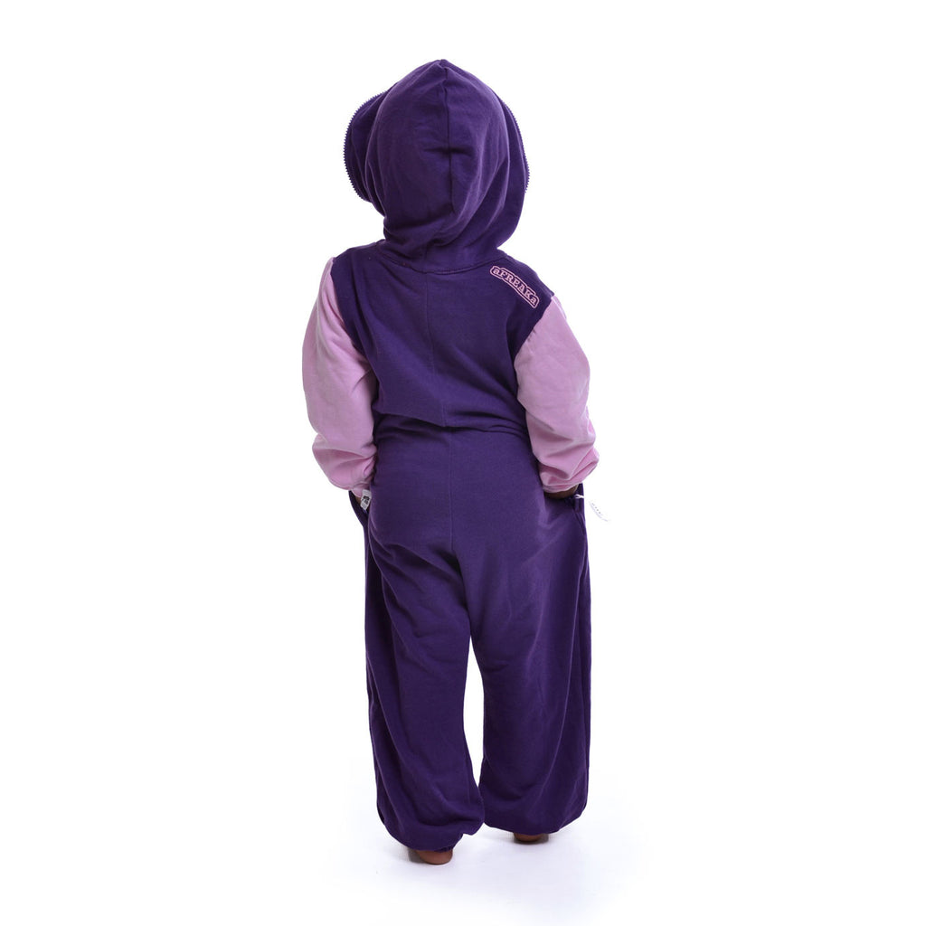 Purple & Light Pink Inye Onesie