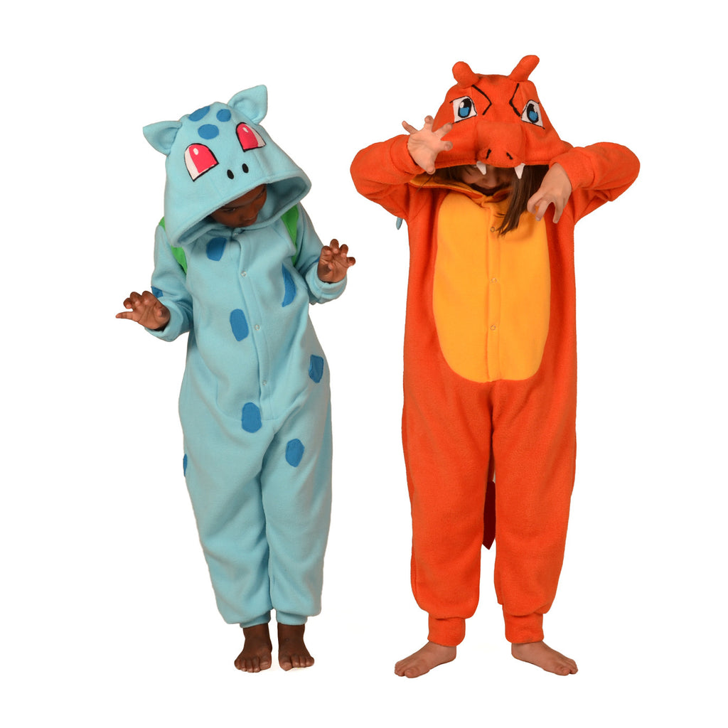 Blue Poke em on Onesie (blue/green): KIDS inspired by Bulbasaur