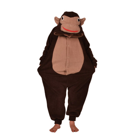 Chimpanse Onesie (brown/beige): KIDS