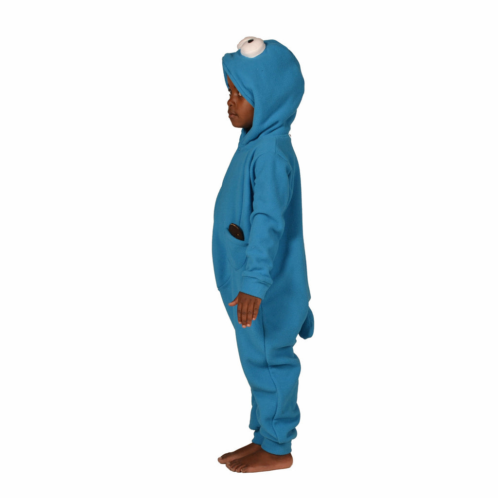 Blue Monster Onesie (blue): KIDS inspired by Cookie Monster
