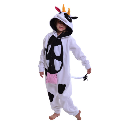 Cow Onesie (white/black): KIDS