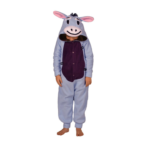 Blue Donkey Onesie (blue/purple): KIDS inspired by Eeyore