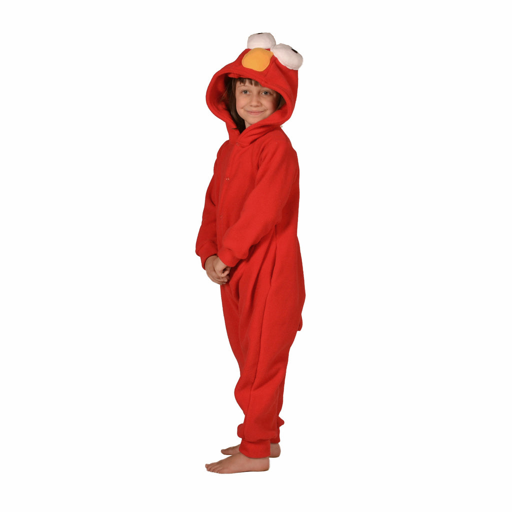 Red Monster Onesie (red): KIDS inspired by Elmo