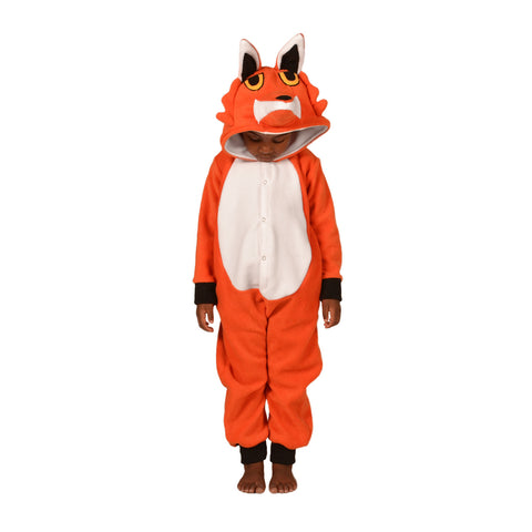 Fox Onesie (orange/white): KIDS