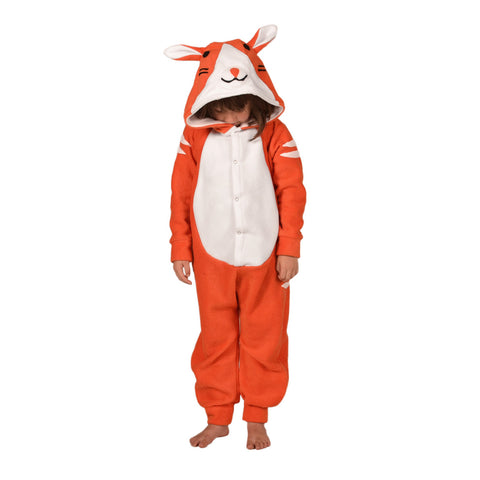 Ginger Cat Onesie (orange/white): KIDS