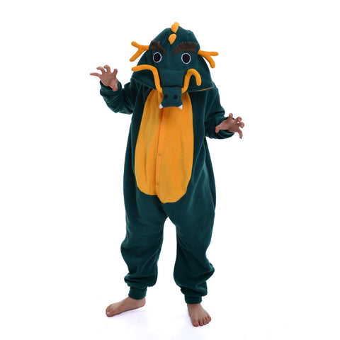 Dragon Onesie (green/yellow): KIDS