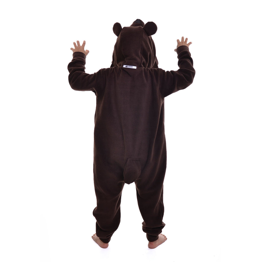 Grizzly Bear Onesie (brown): KIDS