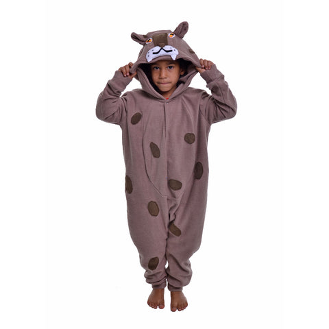 Leopard Onesie (beige/brown): KIDS