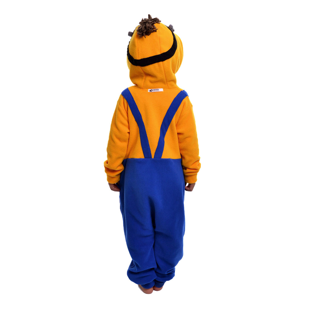 Monster with two eyes Onesie (yellow/blue): KIDS inspired by Minions