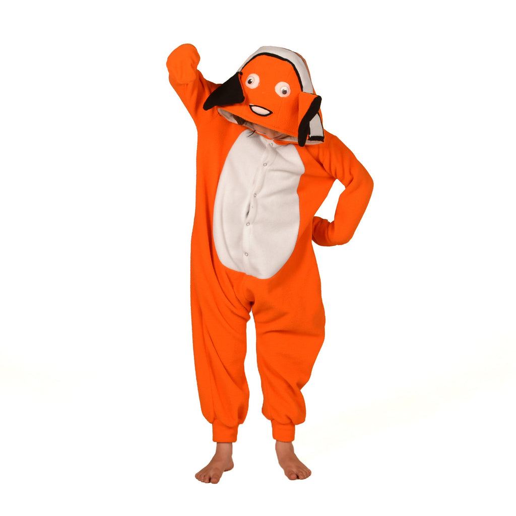 Clownfish Onesie (orange/white): KIDS inspired by Nemo