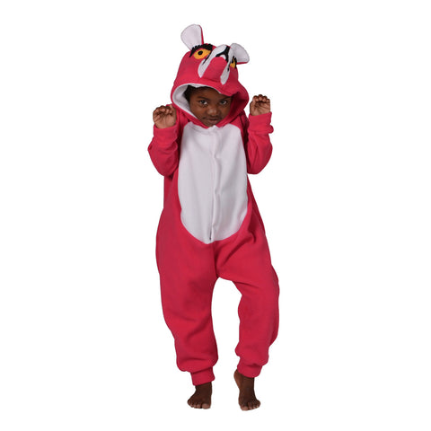Panther Onesie (pink/white): KIDS inspired by Pink Panther