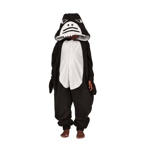 Shark Onesie (black/white): KIDS