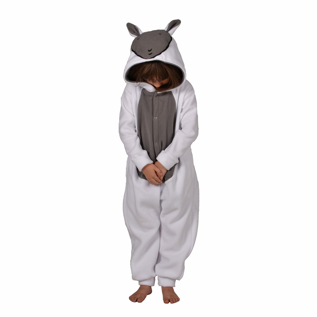 Sheep Onesie (white/grey): KIDS