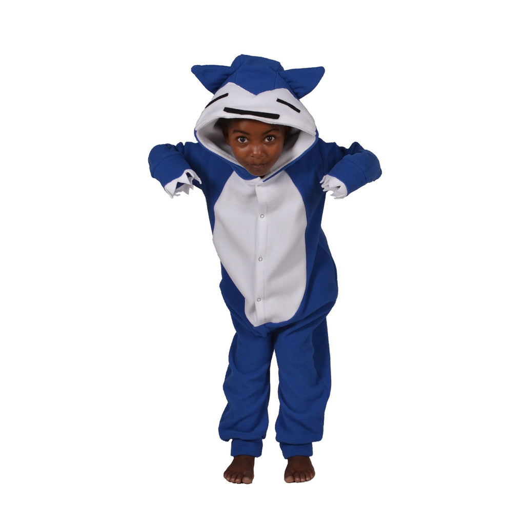 Blue Poke em on Onesie (blue/white): KIDS inspired by Snorlax