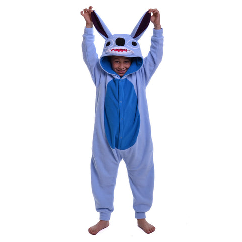 Alien Dog Onesie (light blue/blue): KIDS inspired by Stitch