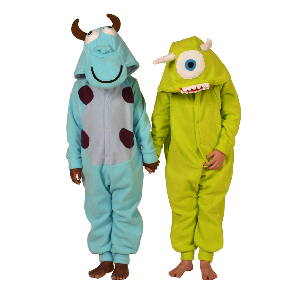 Green Monster Onesie (green): KIDS inspired by Mike Wazowski from Monsters Inc