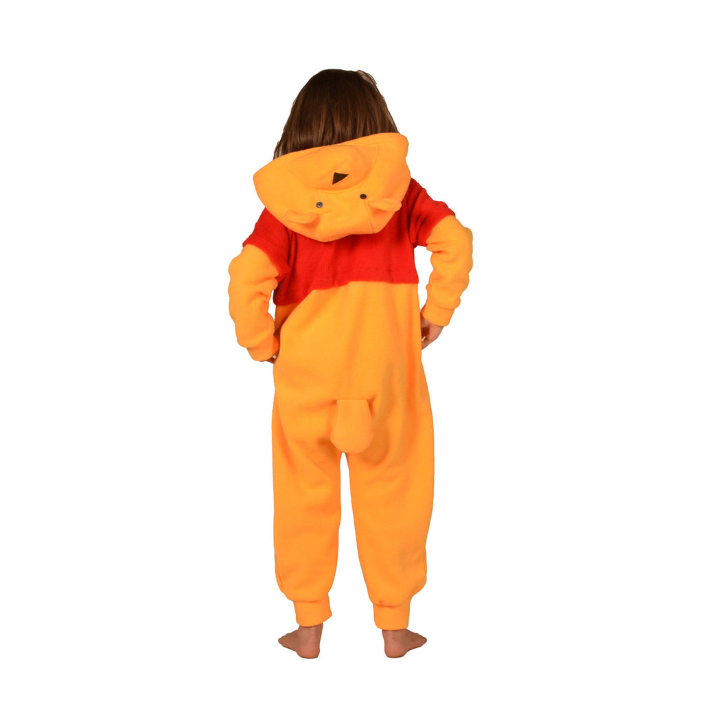 Teddy Bear Onesie (yellow/red): KIDS inspired by Winnie the Pooh