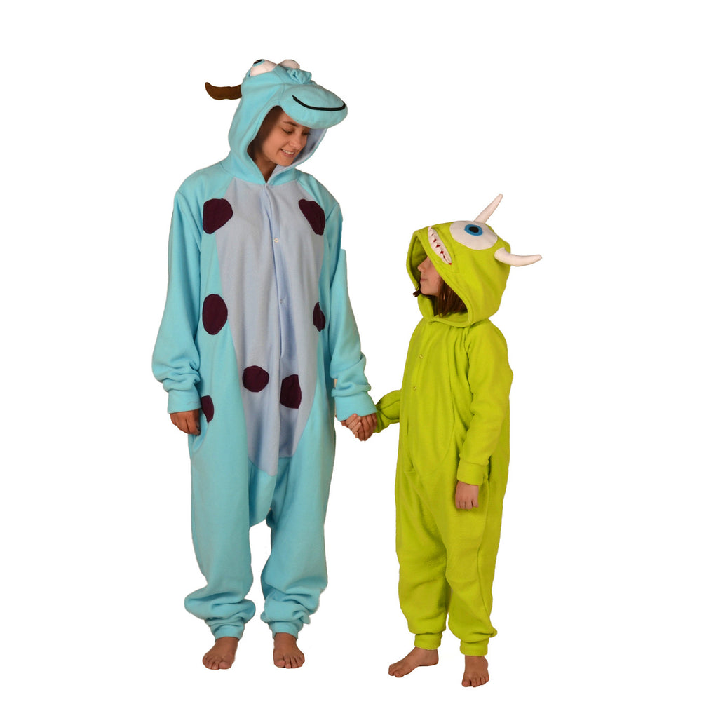 391e59505852 Green Monster Onesie (green)  KIDS inspired by Mike Wazowski from Monsters  Inc