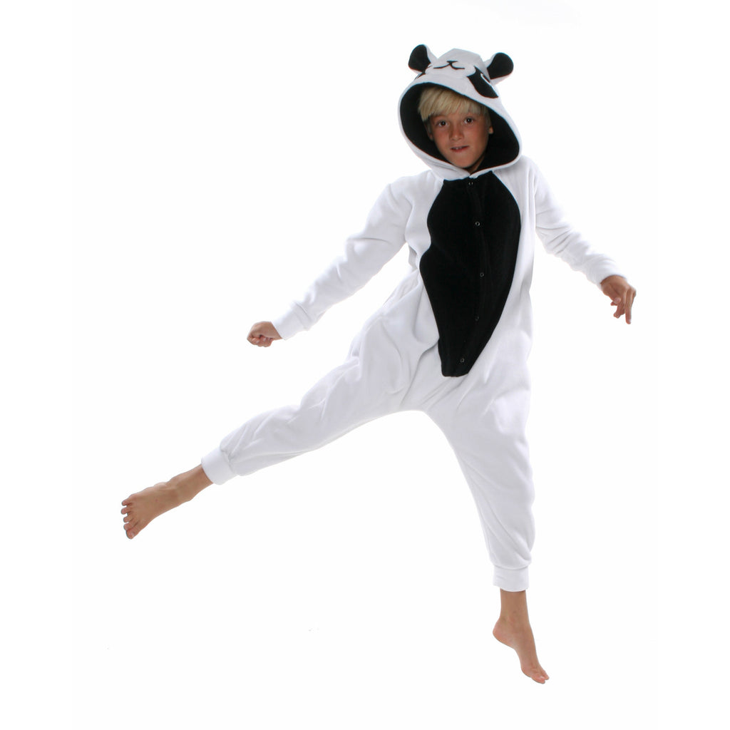 Panda Onesie (white/black): KIDS