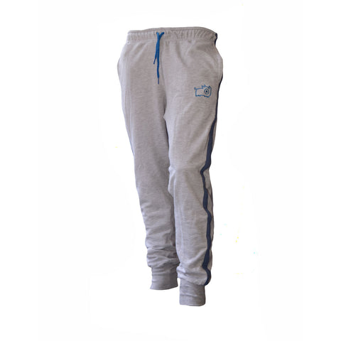Grey & Blue Inye Onesie