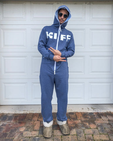 KIFF Inye Onesie - aFREAKa X The Kiffness colab (Airforce Blue)