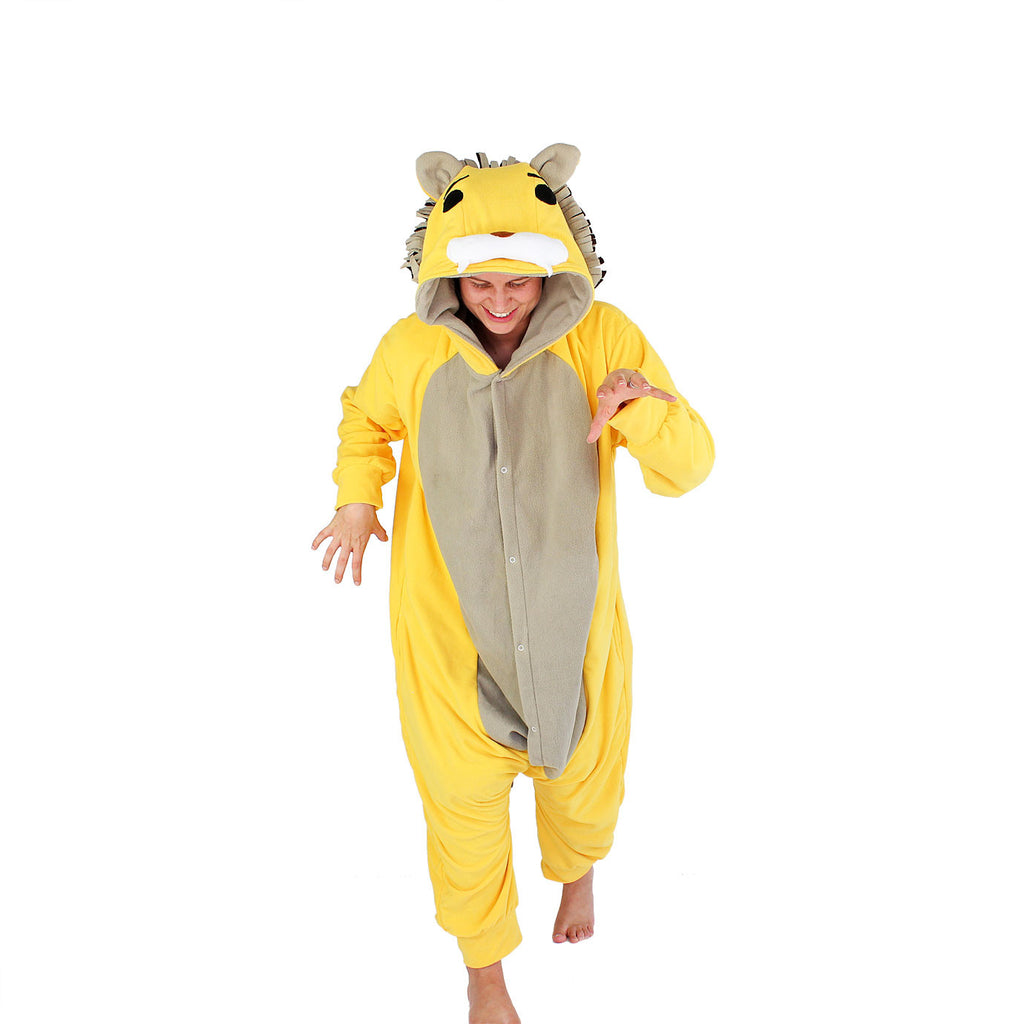 Lion Onesie (yellow/beige)