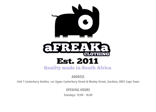 Animal Onesies by aFREAKa, home of the original South