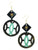 Ivylish Fish Icon Turtle C Mint Lacquer Earrings