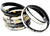 Stackable Set 7 Natural Horn Bangles