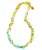 Ivylish Elegant Lily D Lacquer Link Chain Mint Necklace