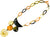 Ivylish Fish & Heart Dragon D/E Chain Necklace