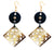 Ivylish Iconic Heart & Fish Lotus E Rectangular Symmetry Diamond Earrings