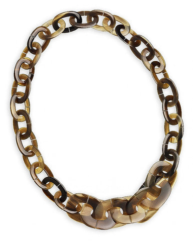 Classic Kali PM  Chain Horn Link Necklace