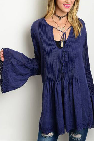 Blue Belle Blouse