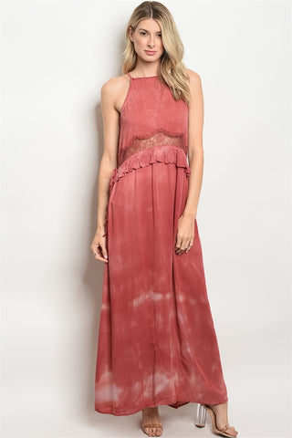 Roxy Red Maxi Dress