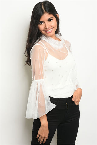White Wonder Blouse