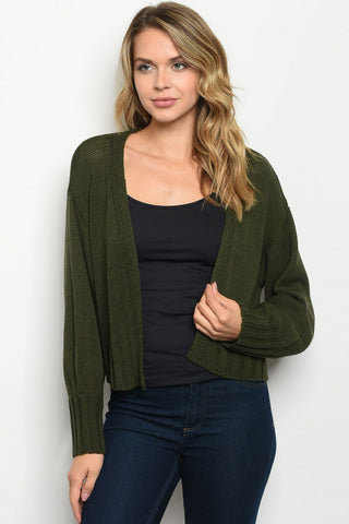 Green Grace Sweater