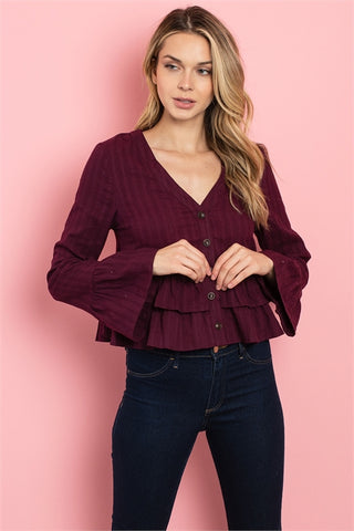 Waylon V Neck Top