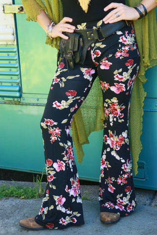 Rebel Rose Flair Pants