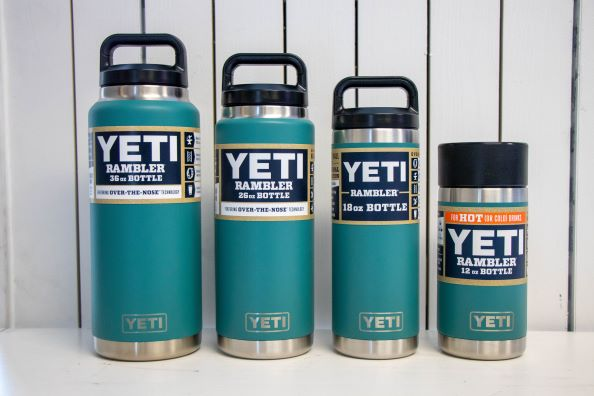 YETI River Green Water Bottles