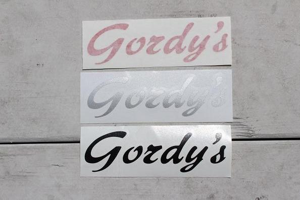 Gordy's Sticker