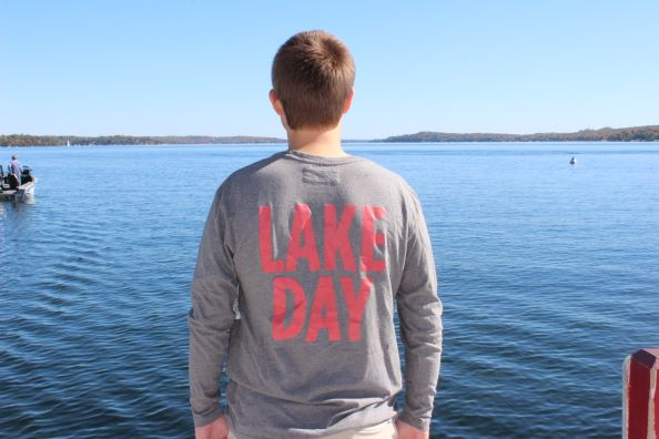 Lake Day LS Tee