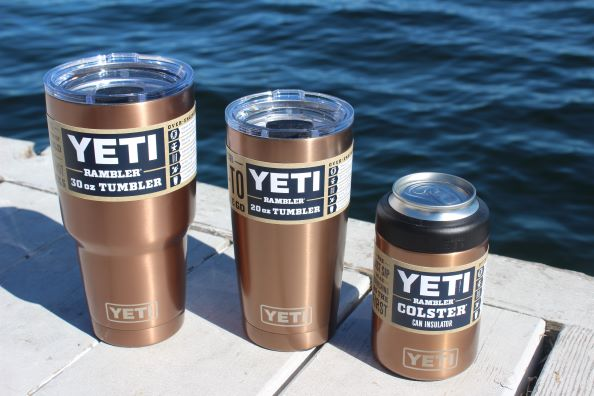 YETI Copper Elements Ramblers