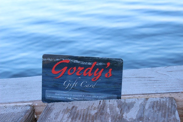 Gordy's Gift Card